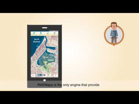 RAK Maps Mobile Website