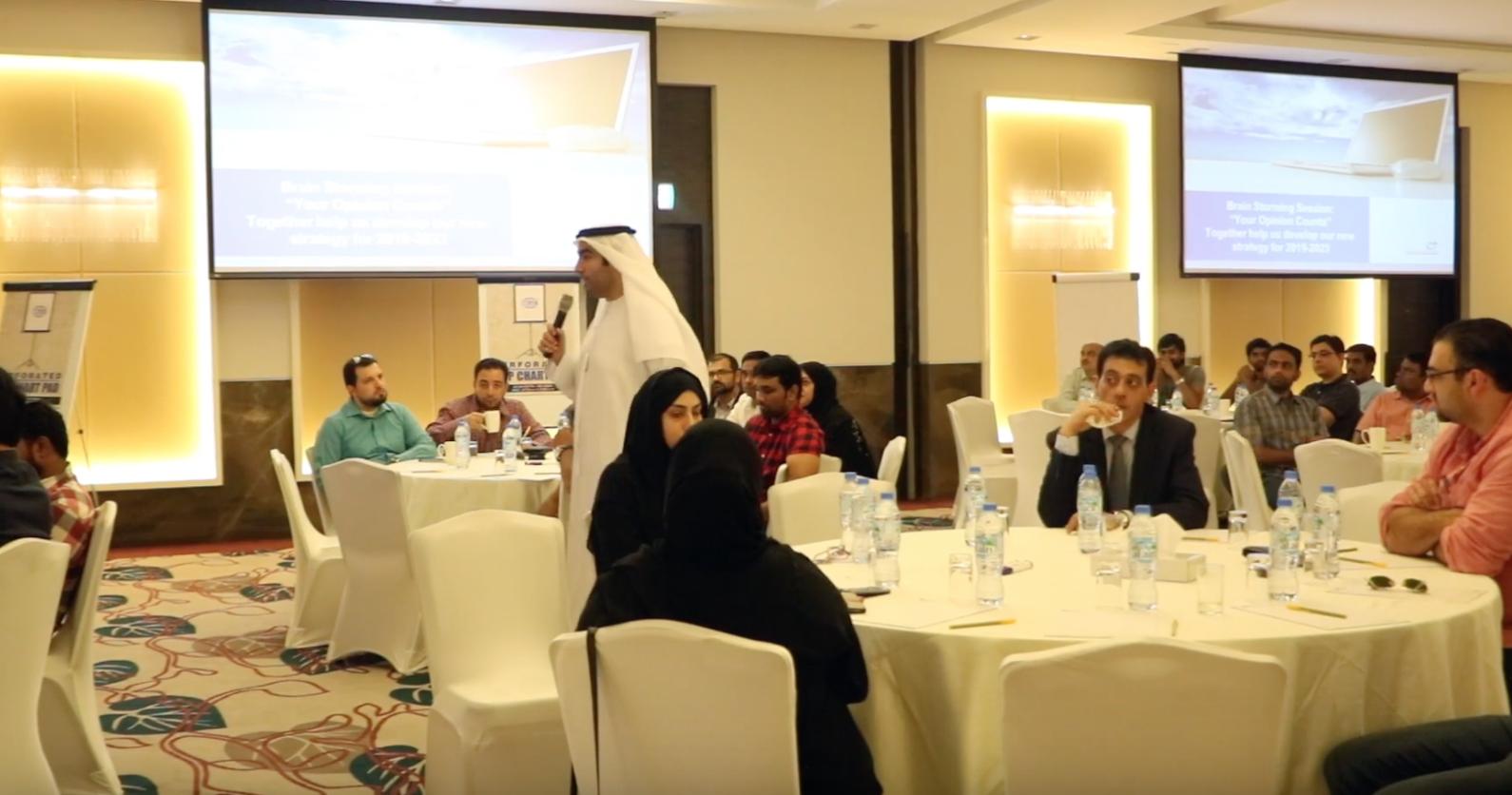 ورشة عصف ذهني لتطوير الخطة الإستراتيجية 2019-2021