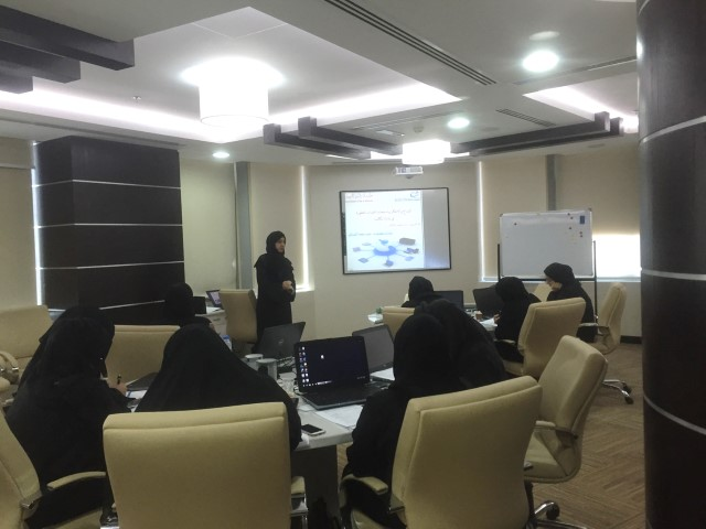 EGA organized a training about innovation and creativity in technical development in RAK Customs Department