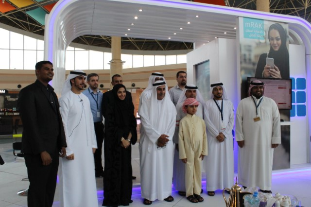Smart RAK event visitors